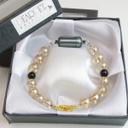 ディアペットオリジナル遺骨ブレスレット 天使のお数珠 シャンパンゴールド