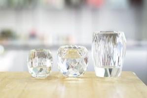 火を使わないガラス仏具3点セット【納骨堂におすすめ】