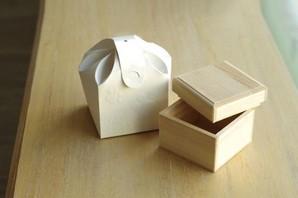 紙箱(粉骨、分骨用に)